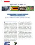 POLICY BRIEF - Harnessing Zimbabwe's Potential for Green Energy and Green Jobs in the Energy Sector